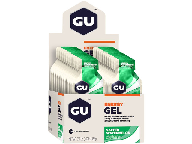 GU Energy Gel Box 24x32g, Salted Watermelon
